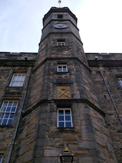 Clock tower of the Royal Palace, Edinburgh Castle, Edinburgh, Scotland