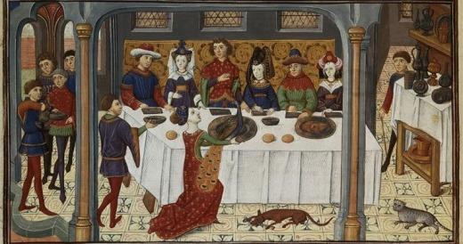 """""""Il Convivio"""" by Dante: medieval artistic representation"""