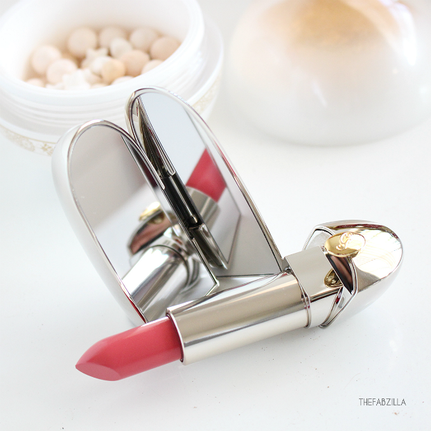 WINTER FAIRY TALE COLLECTION, Guerlain Rouge G de Guerlain Lipstick Merveilleux Rose, Review