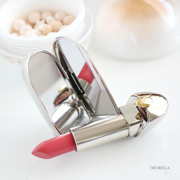 WINTER FAIRY TALE COLLECTION, Guerlain Rouge G de Guerlain Lipstick Merveilleux Rose, Review