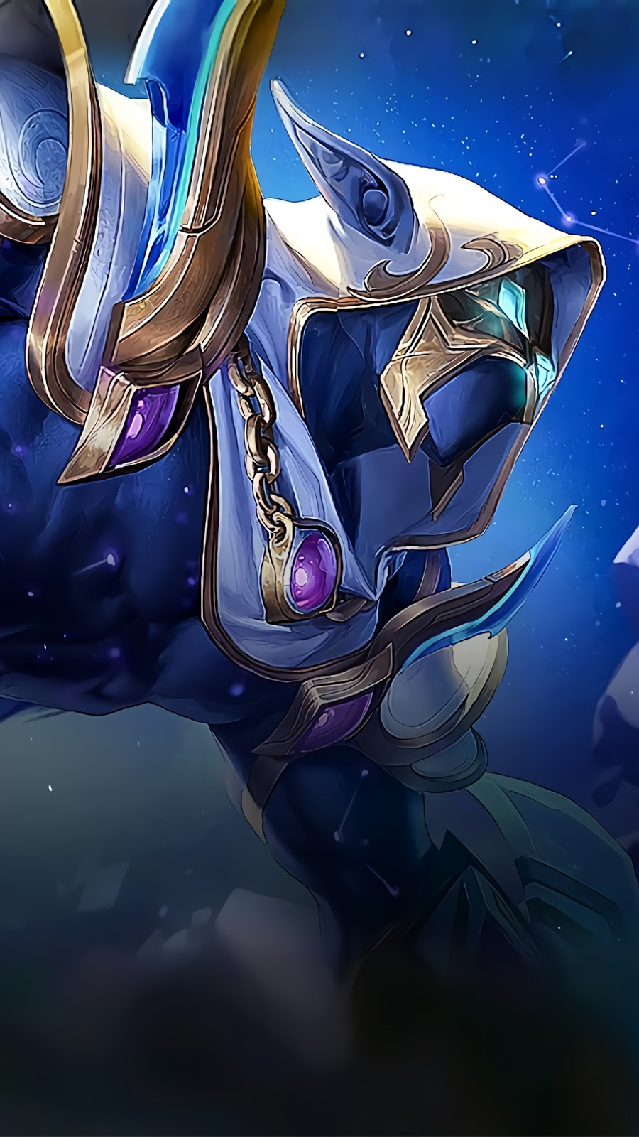 Wallpaper Helcurt Scorpio Skin Mobile Legends HD for Android and iOS