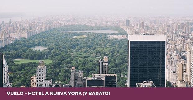 Vuelo + hotel a Nueva York