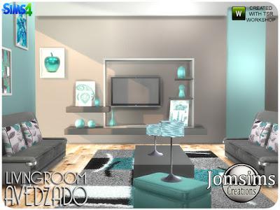Avedzado living room Avedzado гостиная для The Sims 4 Avedzado Цветной и удобный с современными линиями. кожаный диван. подушки часть 2 кожаная для дивана. подушки деко для дивана. misc deco мебель с декором беспорядок.rugs модерн большой. настенные росписи х3 стиль и 4 цвета по картинам. 1 настольная лампа. 1 настольная лампа более маленькая. 1 слойка из кожи Автор: jomsims