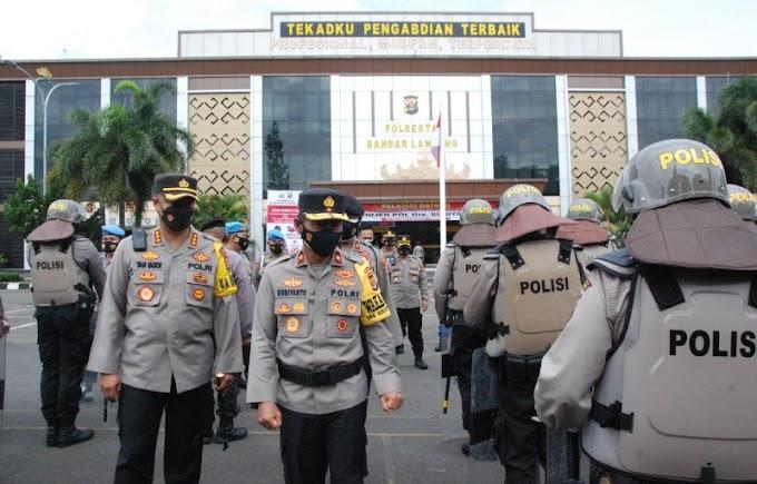 Kunker di Polresta Balam, Wakapolda Lampung Sampaikan Arahan ini kepada Jajaran