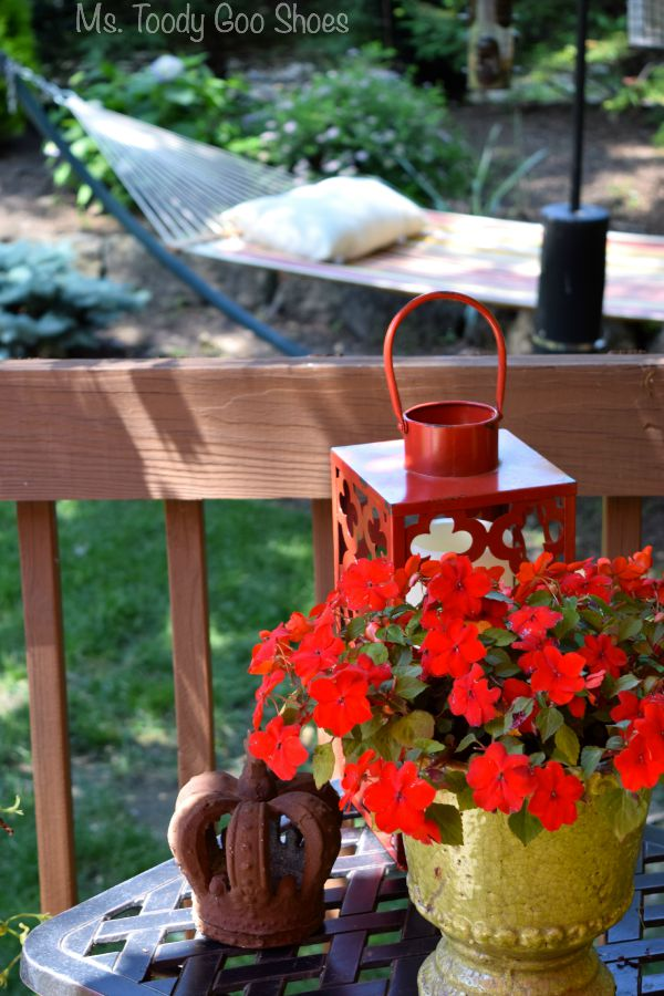 It's amazing what adding a few accessories to the deck will do! | Ms. Toody Goo Shoes