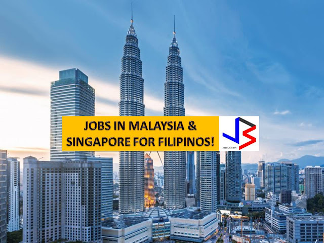 The following are jobs approved by POEA for deployment to the Singapore and Malaysia. Job applicants may contact the recruitment agency assigned to inquire for further information or to apply online for the job.  We are not affiliated to any of these recruitment agencies.   As per POEA, there should be no placement fee for domestic workers and seafarers. For jobs that are not exempted from placement fee, the placement fee should not exceed the one month equivalent of salary offered for the job. We encourage job applicant to report to POEA any violation of this rule.  Disclaimer: the license information of employment agency on this website might change without notice, please contact the POEA for the updated information.