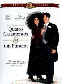 #Filmes - Quatro Casamentos e Um Funeral