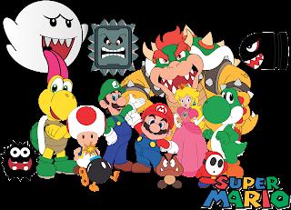 Baixar vetor Super Mario Bros Corel Draw gratis