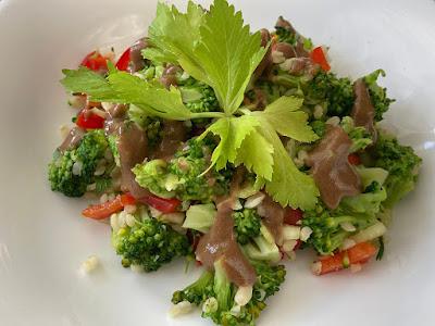 Kasza bulgur z brokułem