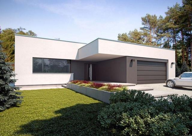 Plano de casa minimalista de 170 m2 planos de casas for Casa minimalista veracruz