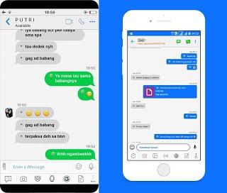 [Update Terbaru] Download BBM Mod Iphone Style IOS Versi APK+DATA 3.3.6.51 Terbaru