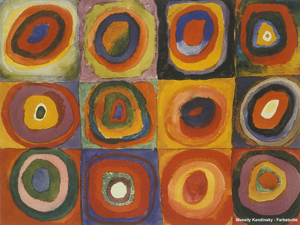 M and J in a Nutshell: The art of Vasily Kandinsky