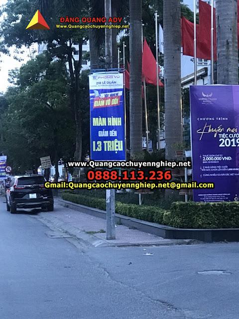 Treo cờ phướn giá rẻ tại Hà nội