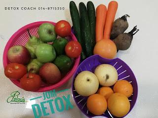 Detox; cara makan untuk detox; kenapa perlu detox; detox dengan sihat; detox keseluruhan; shaklee detox; PLS challenge; shaklee detox; shaklee labuan; shopping makanan sihat; detox meal plan; makanan sihat