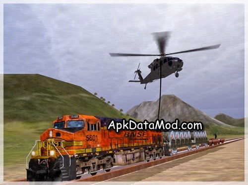 Helicopter Sim Pro picking train