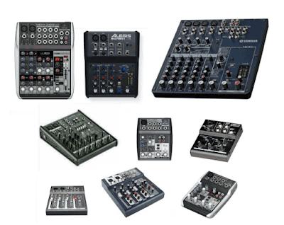 Harga Mixer Audio Murah