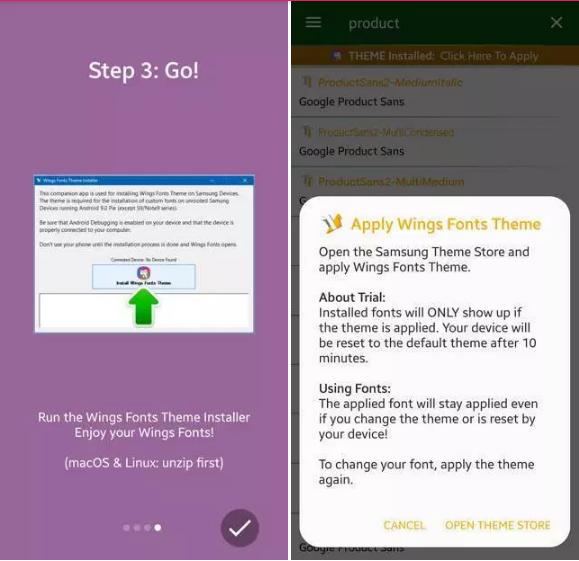 Download dan Instal Font untuk Ponsel Samsung Galaxy untuk OneUI Android 9 Pie atau lebih lama 2
