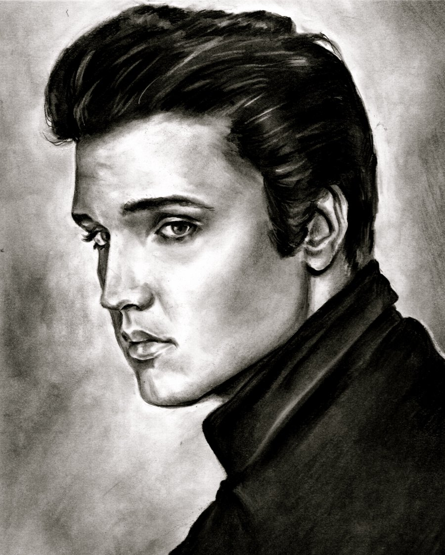 IN DREAMS: ELVIS PRESLEY -art