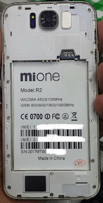 Mione R2 Flash File Without Password