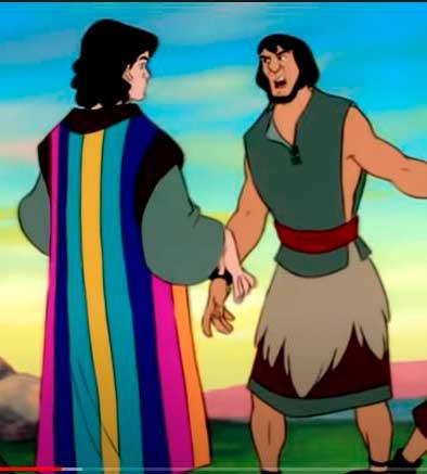 José com a túnica