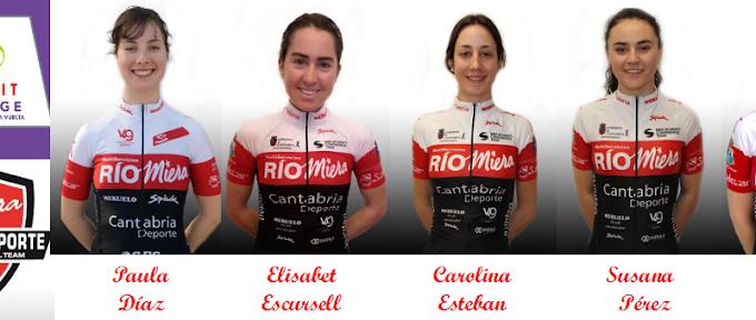 Las corredoras del Río Miera - Cantabria Deporte debutarán en la Madrid Challenge by La Vuelta