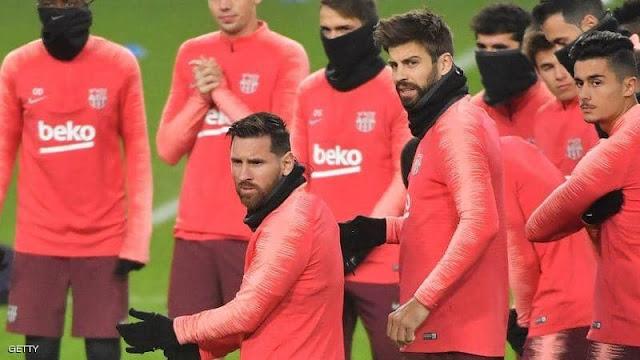 فايروس كورونا مع نادي برشلونة