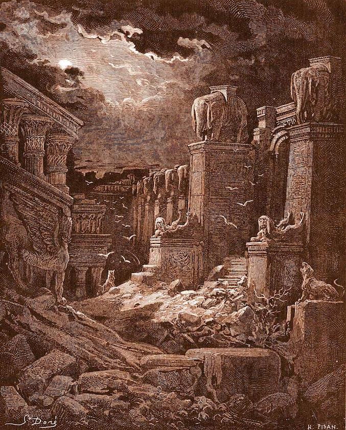 A queda de Babilônia, Gustave Doré