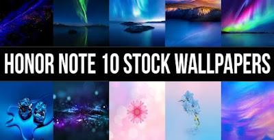 Download Stock Wallpaper Honor Note 10 (QHD) Gratis