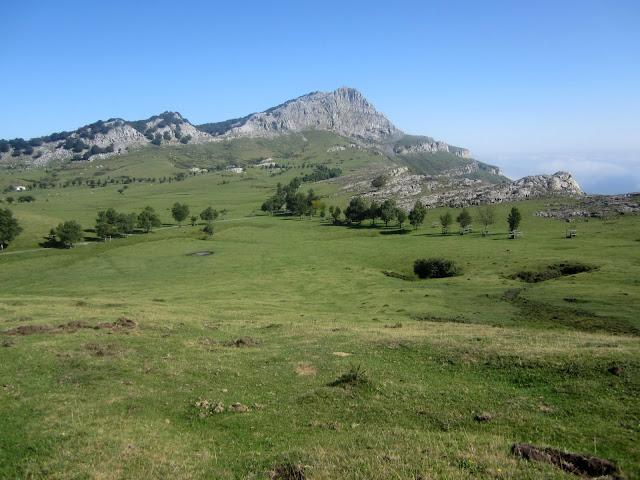 Campas de Arraba en el Parque Natural de Gorbeia (Zeanuri, Bizkaia)