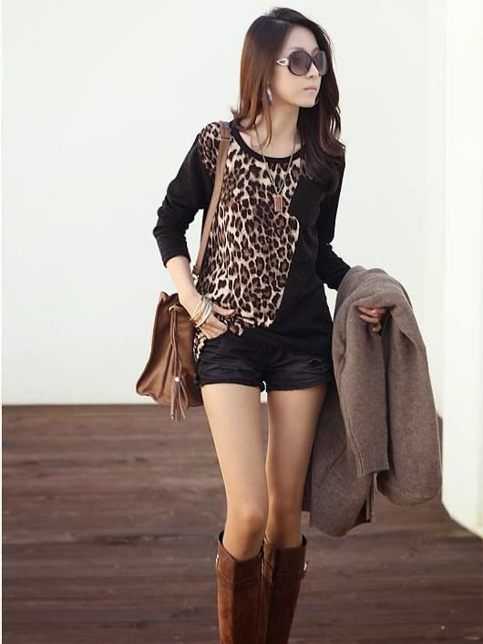 90eda76f5a fashions and lifestyle   New Look Leopard Print Shirt Latest Fashion ...