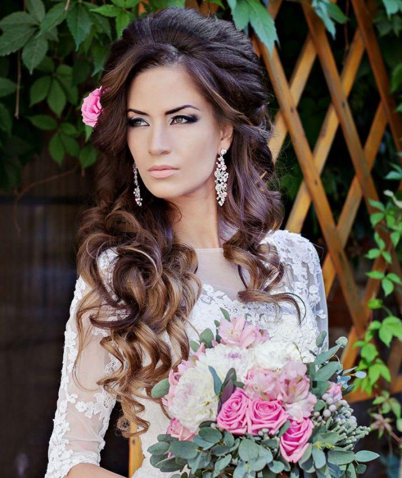 Parul Lui Rapunzel Mireasă Cu Bucle Lejere Sau Cu Părul Despletit
