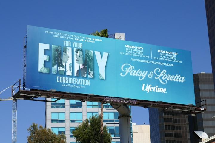 Patsy Loretta Lifetime Emmy FYC billboard
