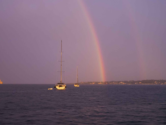 Siracusa - doppio arcobaleno ©Valeriaderiso