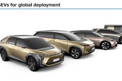 Toyota Bersikukuh Mengehentikan Secara Bertahap Mobil Dengan Mesin Pembakan Dalam