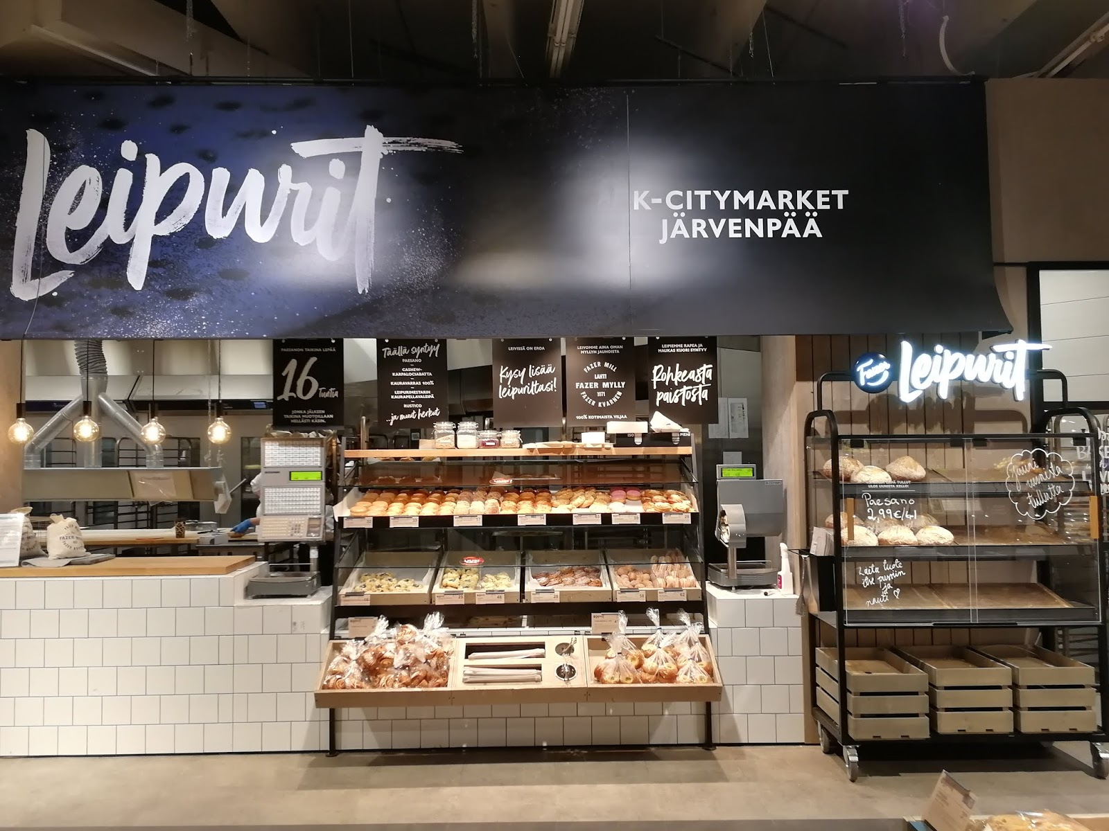 leipurit k-citymarket järvenpää