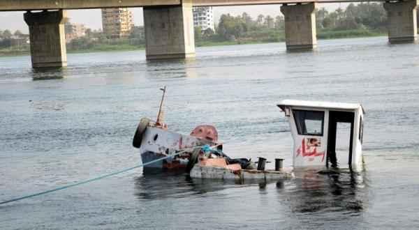 غرق مركب الفوسفات