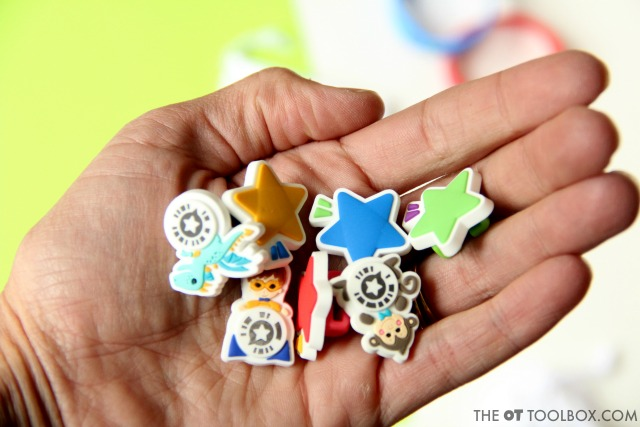Kids can pick their potty training reward with a meaningful and motivating theme.