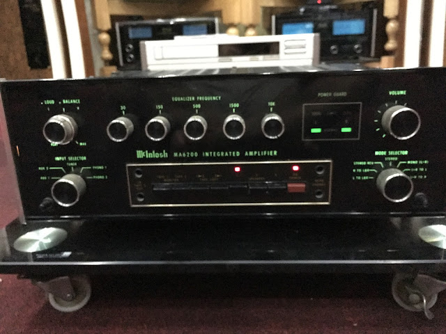 Amplifier McIntosh - MA 6200 - Made in USA