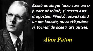 Maxima zilei: 11 ianuarie - Alan Paton