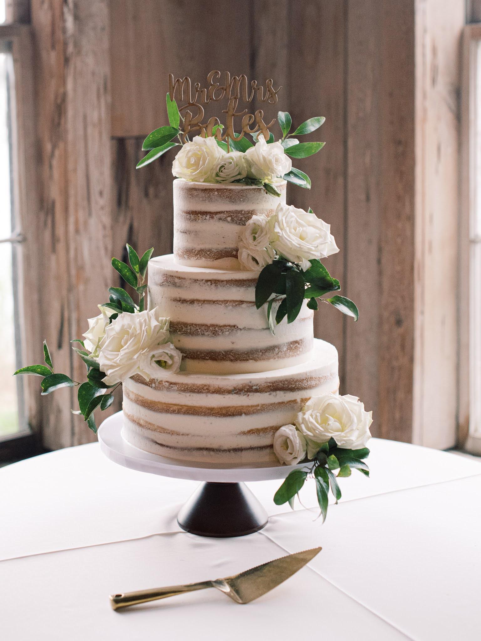 Charleston Wedding Cake Ashley Bakery - Chasing Cinderella