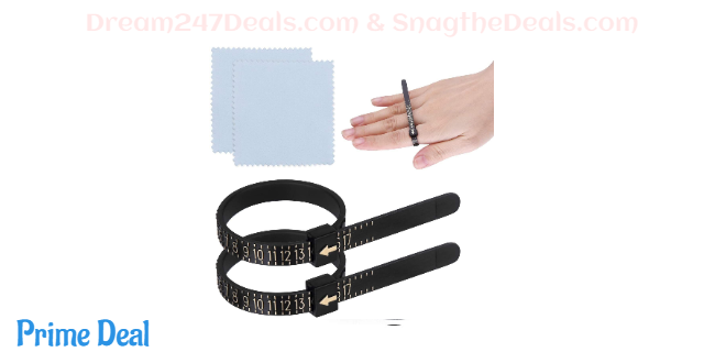 2Pcs US Ring Sizer Plastic Finger Sizer 50% off