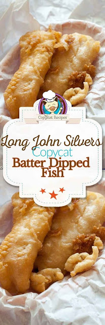 Long John Silvers Fish Batter Copycat Recipe