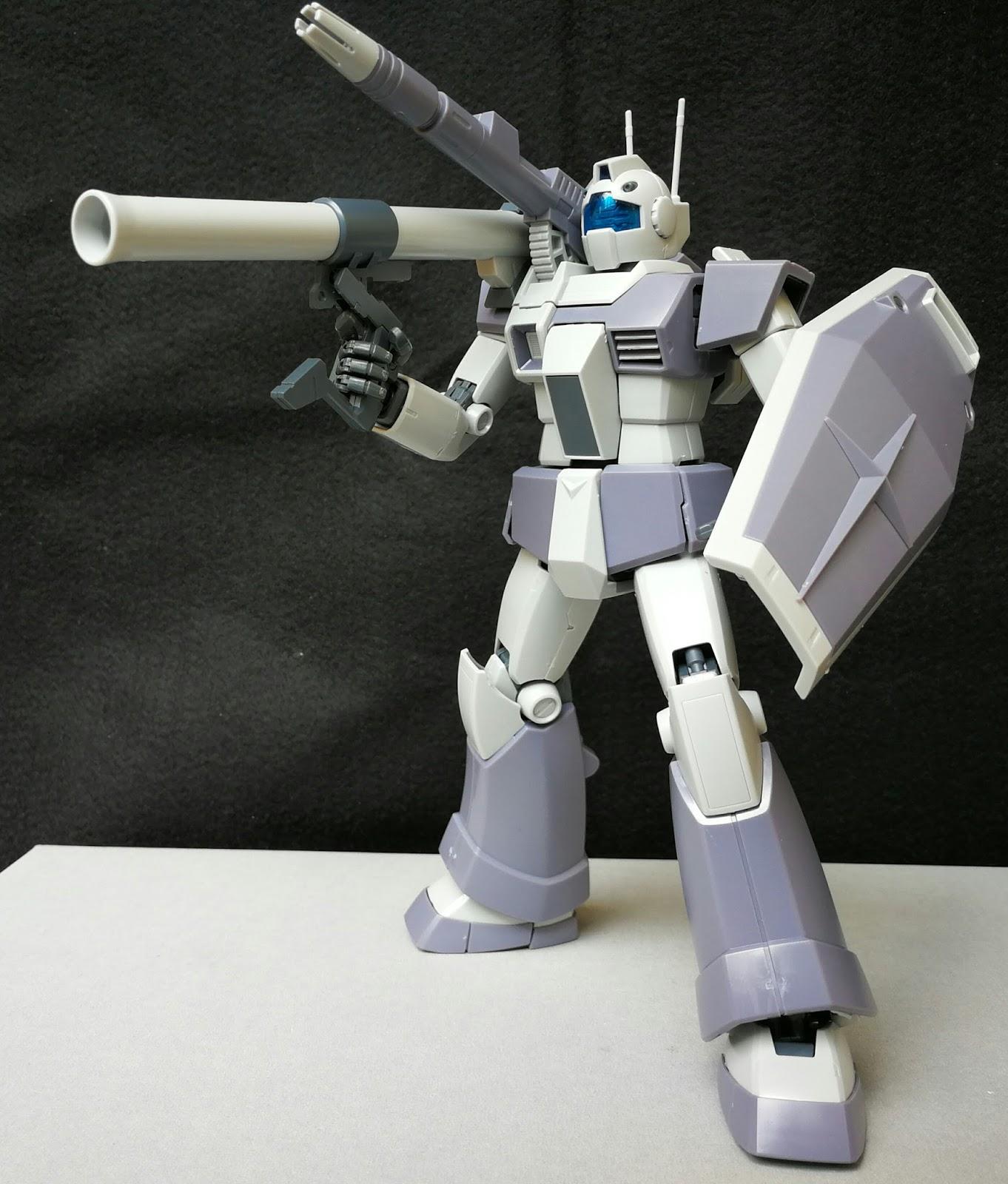 Premium Bandai MG 1//100 RGC-80 GM Cannon Plastic Model Kit