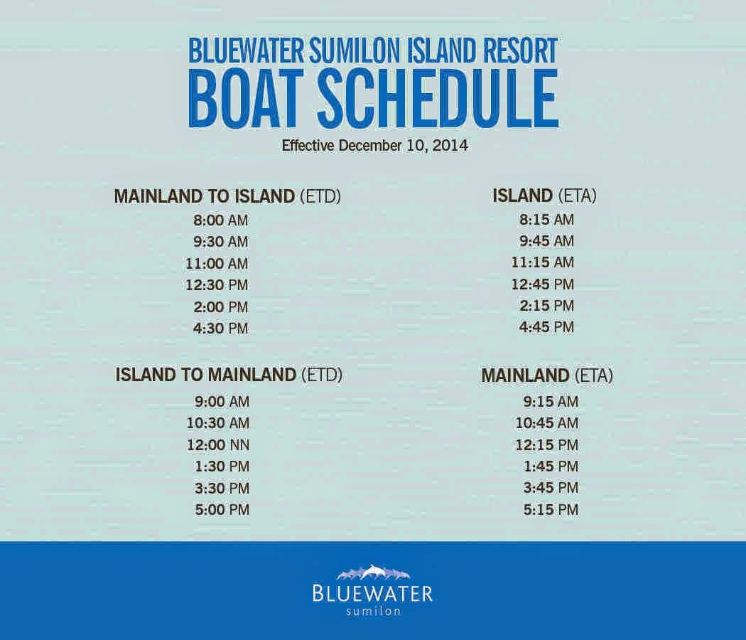 Sumilon Boat Schedule