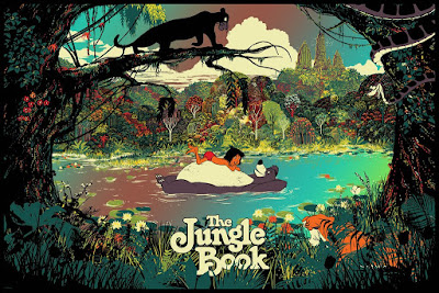 Disney's The Jungle Book Screen Print by Raid71 x Eyeland Prints