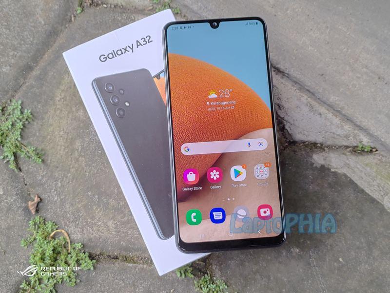 Desain Samsung Galaxy A32