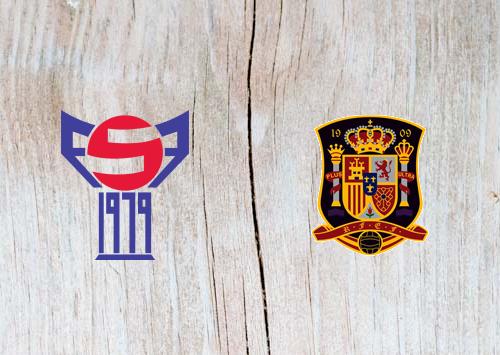 Faroe Islands vs Spain Full Match & Highlights 7 June 2019