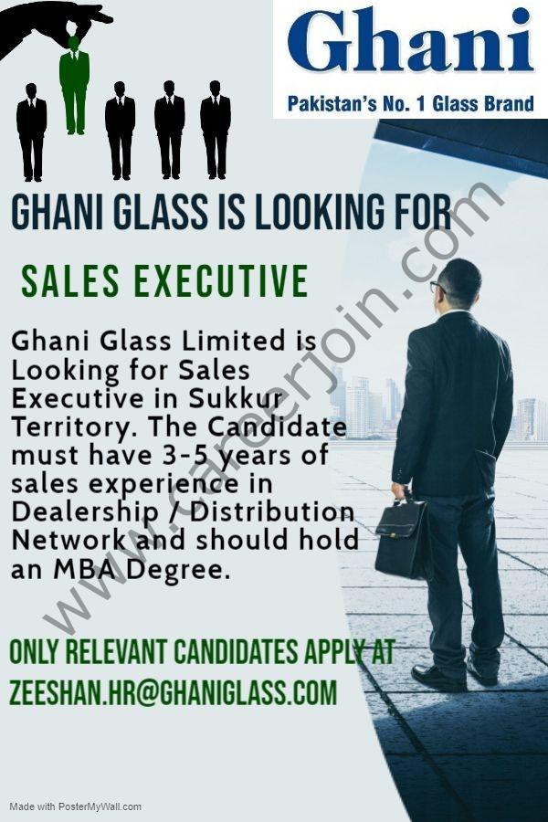 zeeshan.hr@ghaniglass.com - Ghani Glass Ltd Jobs 2021 in Pakistan