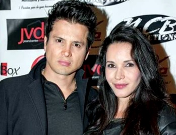Foto de Adriana Campos con su pareja Carlos Rincón