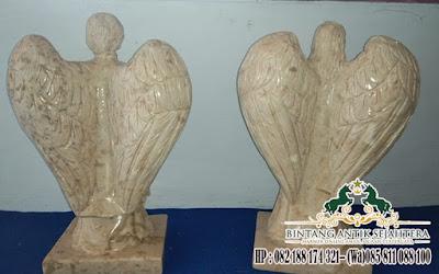 Patung Malaikat Bersayap, Patung Malaikat Untuk Kuburan